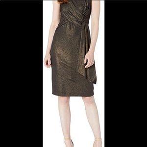 NWT Taylor glitter tank dress with stretch